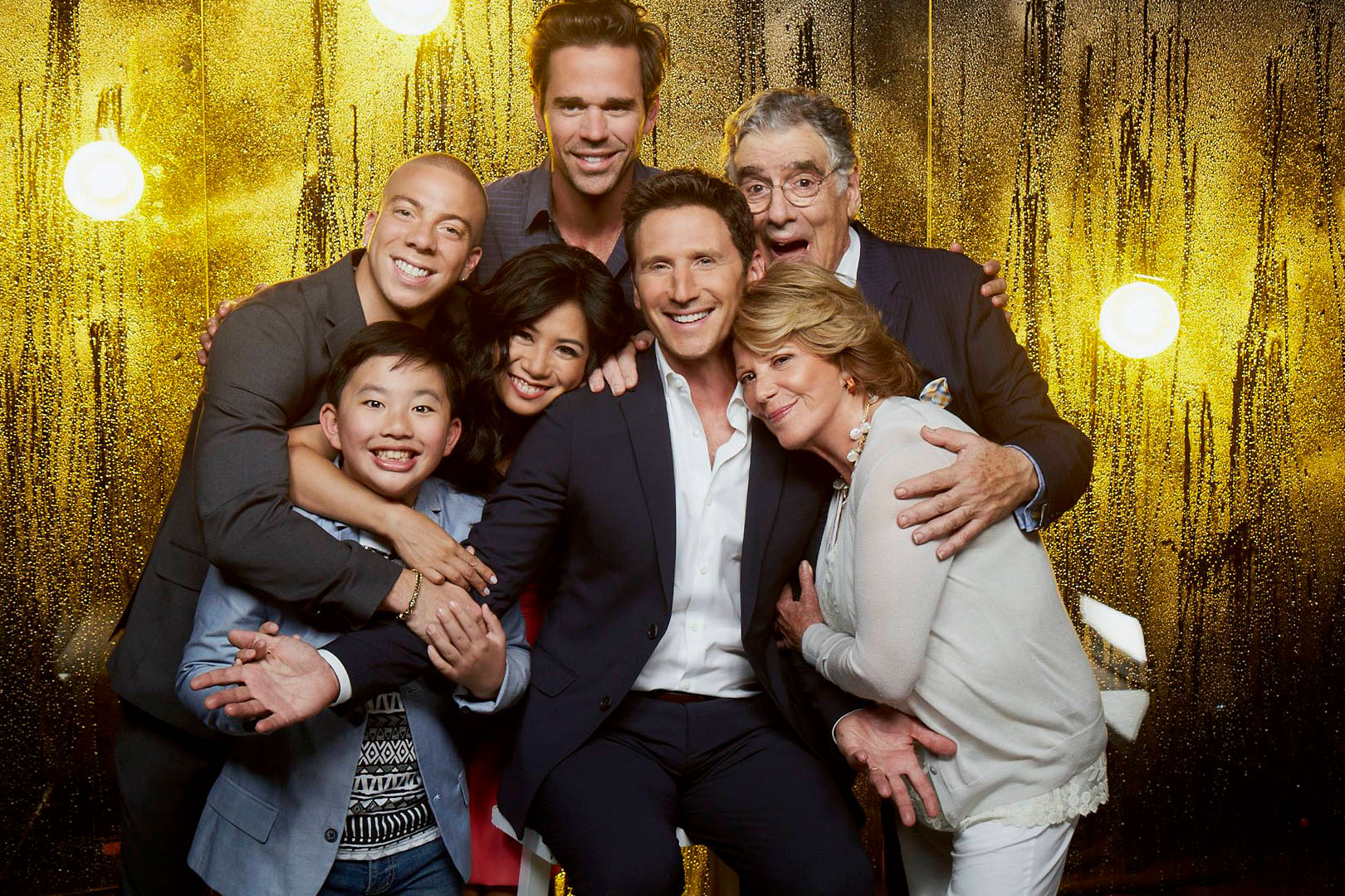 Both on and off set, the 9JKL family has a good time