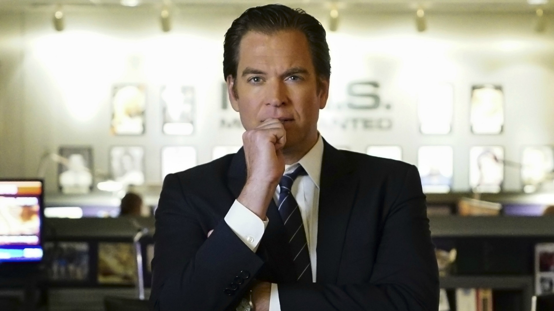 DiNozzo stares into his future.