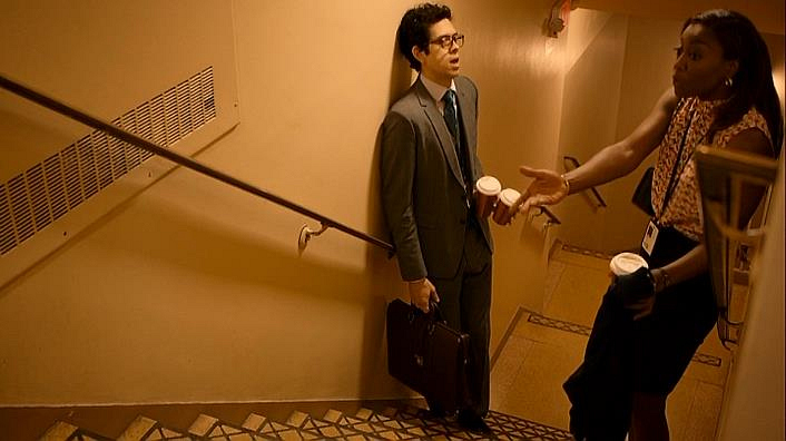 DON'T sneak up the stairs. Avoiding the elevator to hide your affection only draws unnecessary attention.
