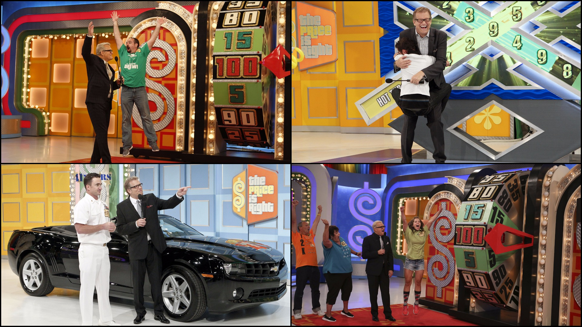 1. Drew has celebrated 10 years hosting The Price Is Right.
