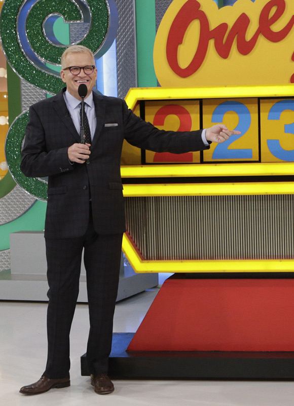 A game show host