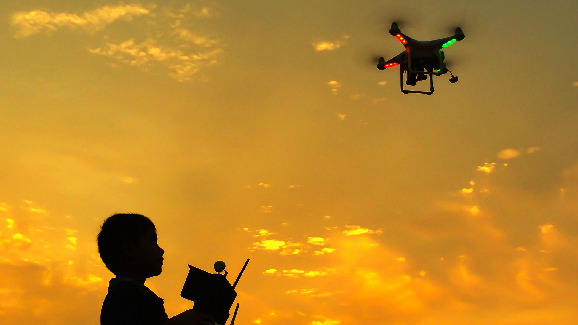 Hindering rescue operations with drones