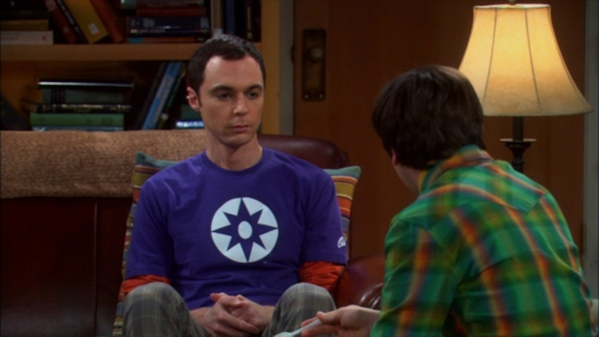 Sheldon Cooper's Star Sapphire symbol shirt from The Big Bang Theory