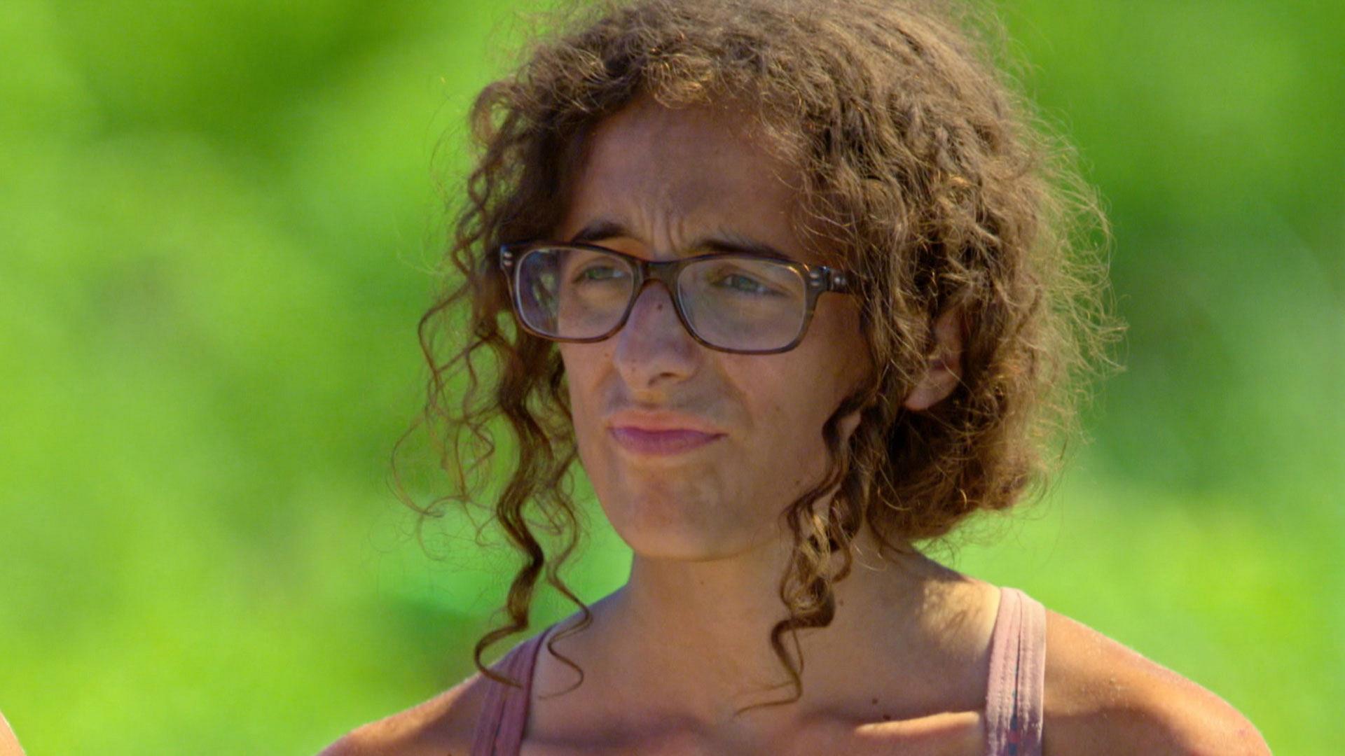 Unwashed castaway: Hannah Shapiro