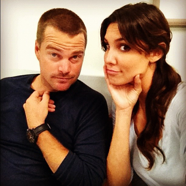 Is daniela ruah dating chris o donnell