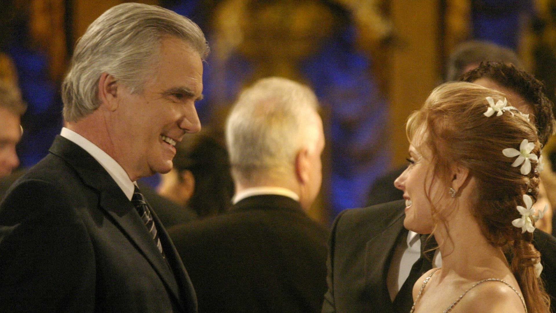 Eric Forrester (John McCook) visited Genoa City in 2005 for Lauren (Tracey Bregman) and Michael's (Christian LeBlanc) wedding.