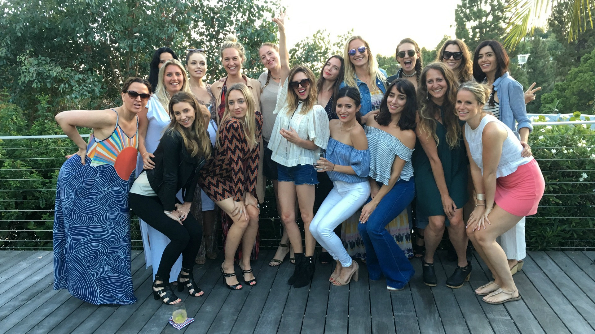 Elizabeth Hendrickson spent her birthday surrounded by good friends.