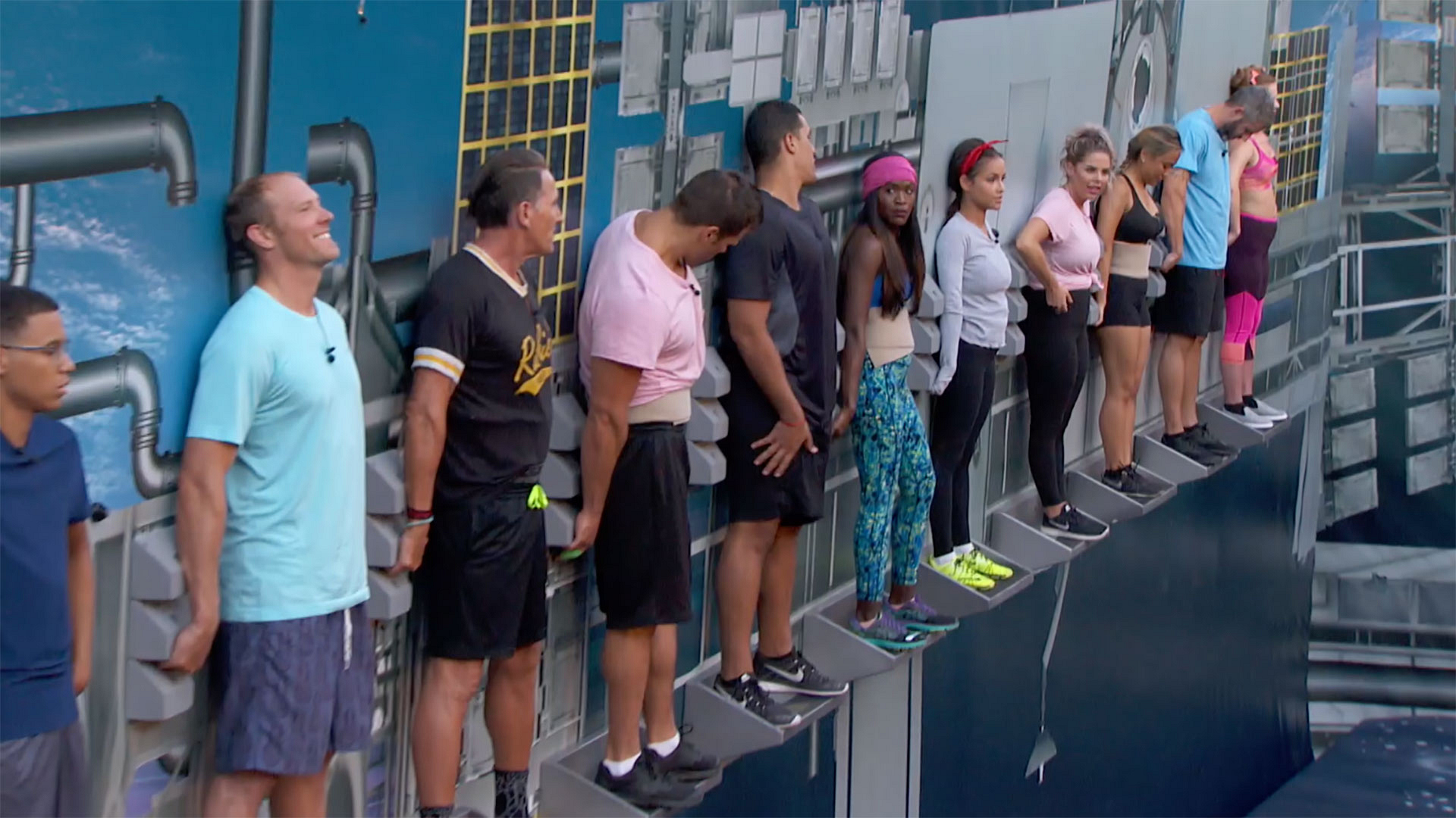 Big Brother's endurance competitions are no laughing matter
