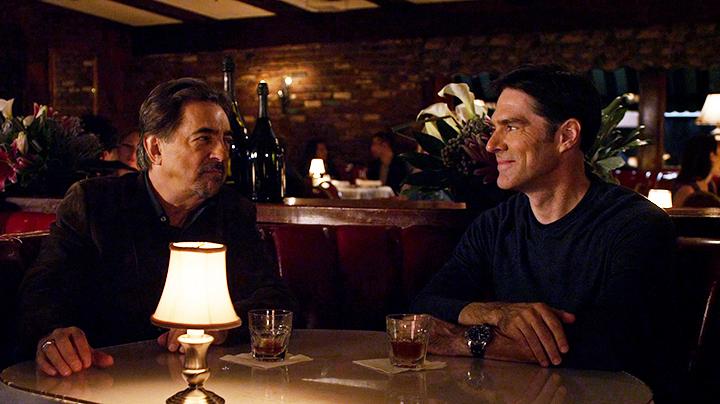 Rossi and Hotchner went on a bros night. - <em>Criminal Minds</em>