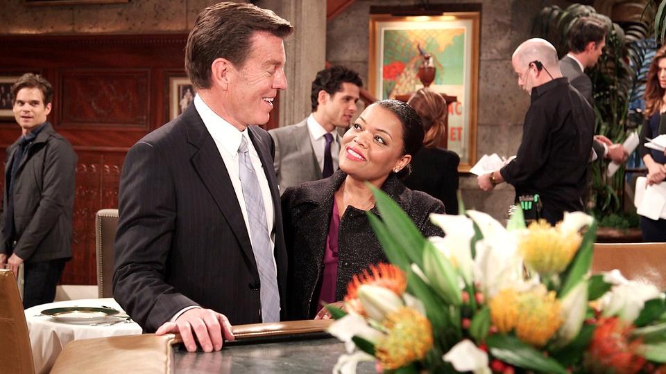 Yvette Nicole Brown guest starred on Y&R.