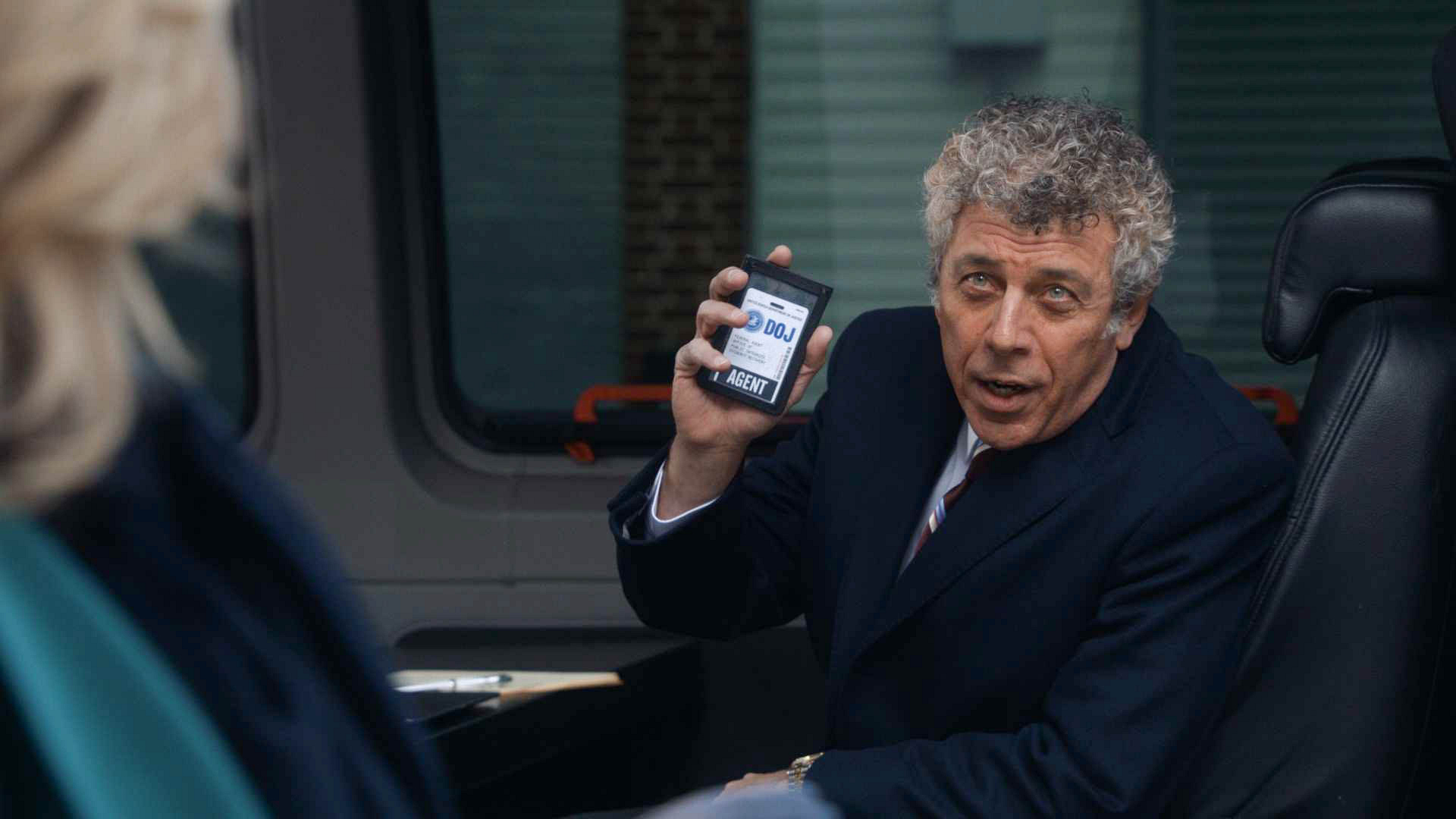 "Eric Bogosian as Nelson Dubek in ""Parallel Construction, Bitches"" S5 E13"