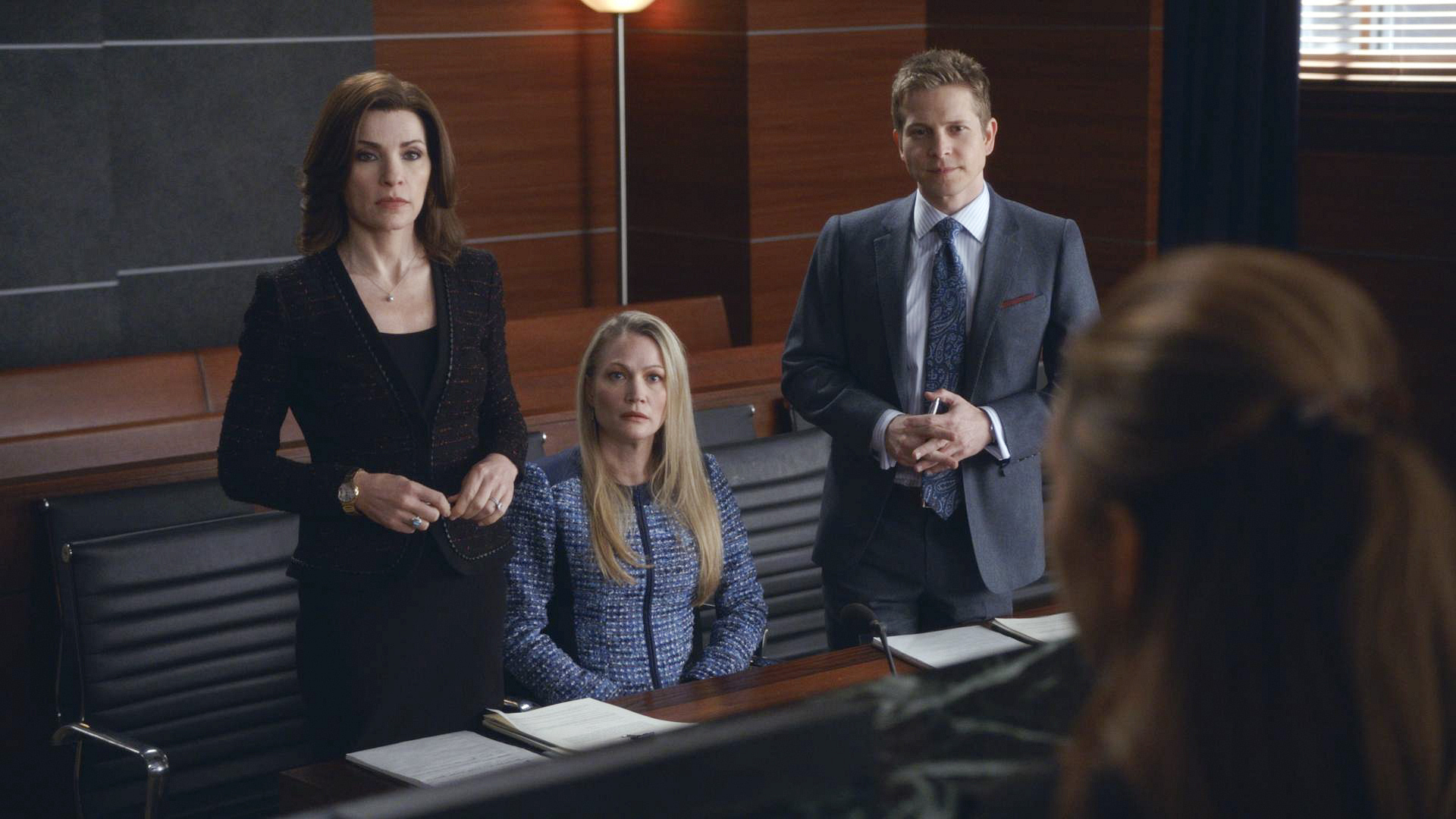 "Alicia and Cary represent one half of a divorce suit in ""A Material World"" S5E17"
