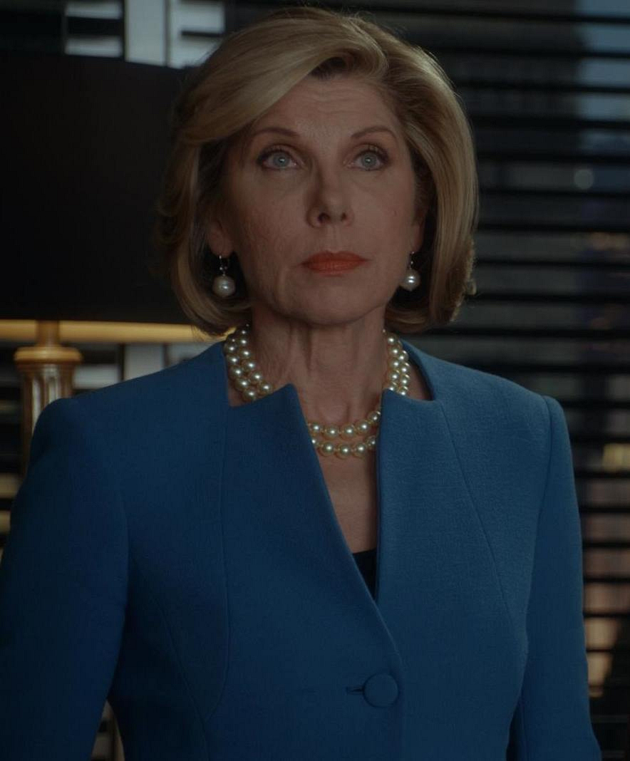 2. I love this neckline on Diane!