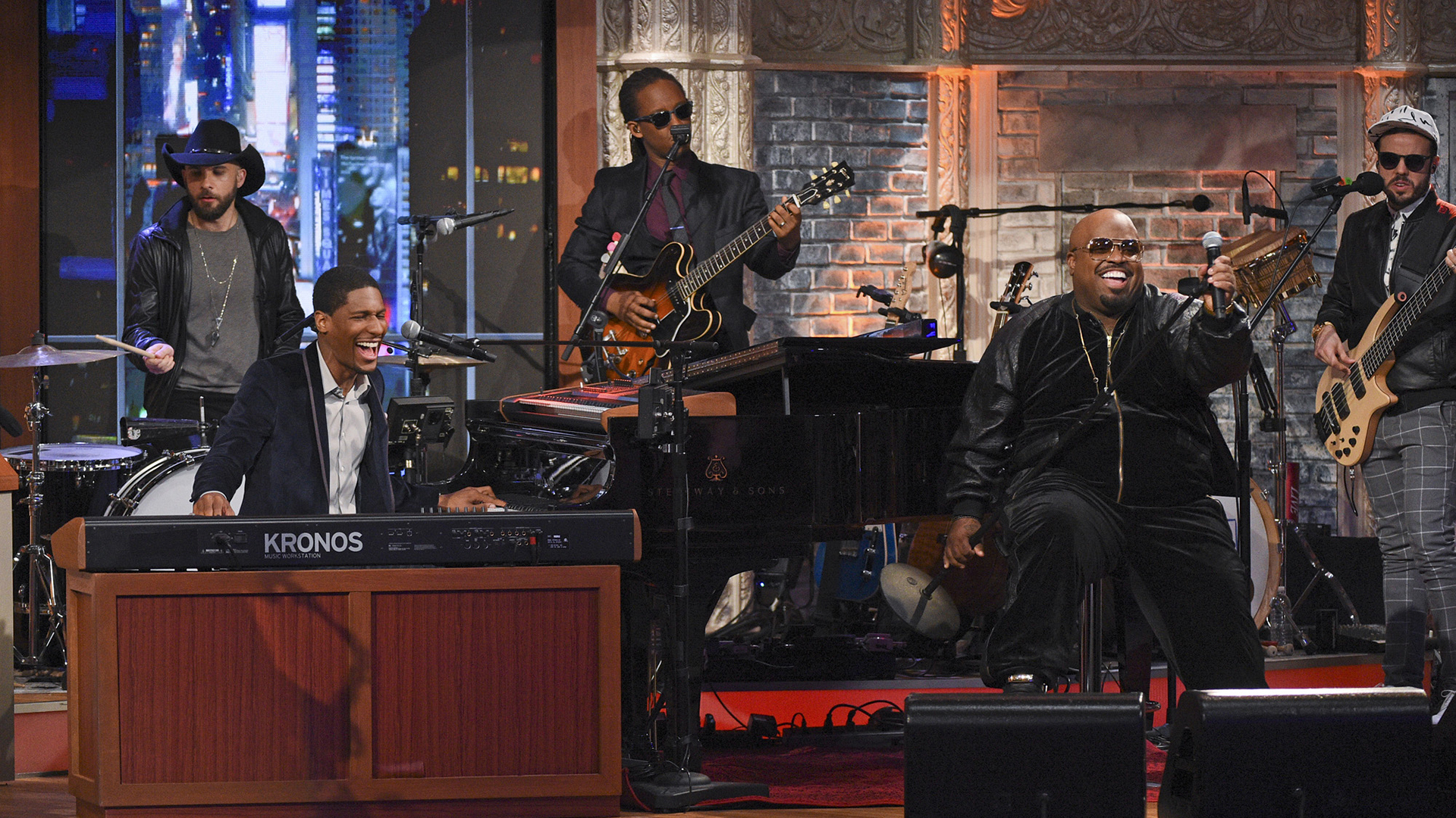 CeeLo Green with Jon Batiste and Stay Human
