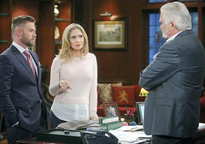 Bridget and Rick learn some interesting news from Eric.
