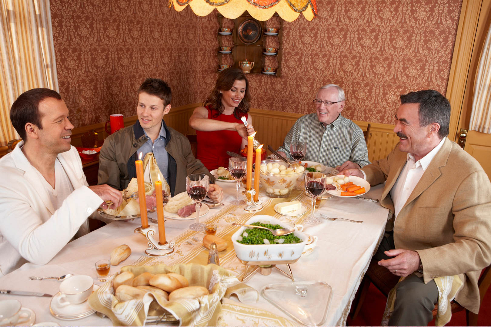 The endearing Blue Bloods clan, especially their traditional Reagan family dinners