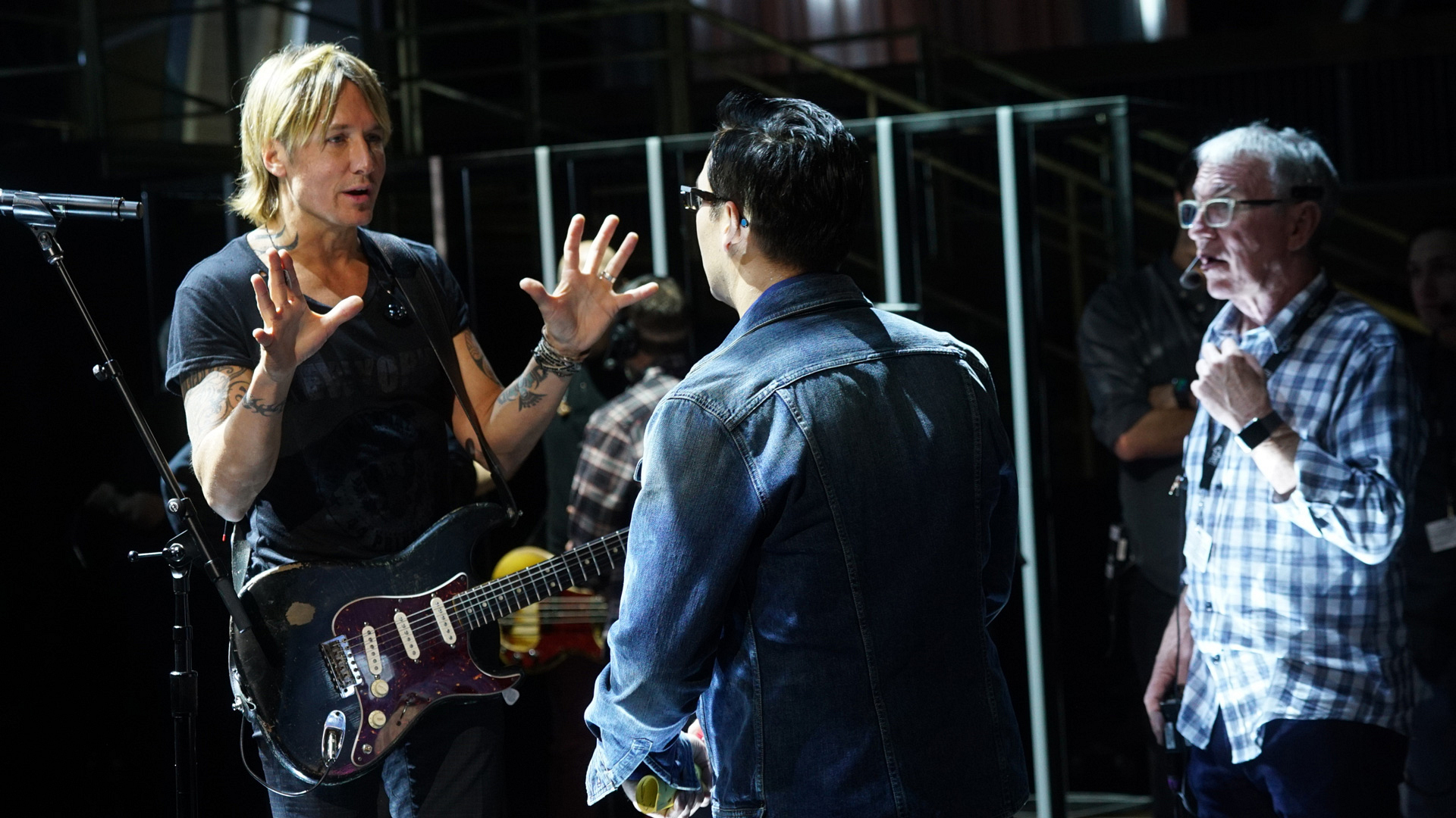 Keith Urban couldn't be more excited for his GRAMMY performance on Sunday.