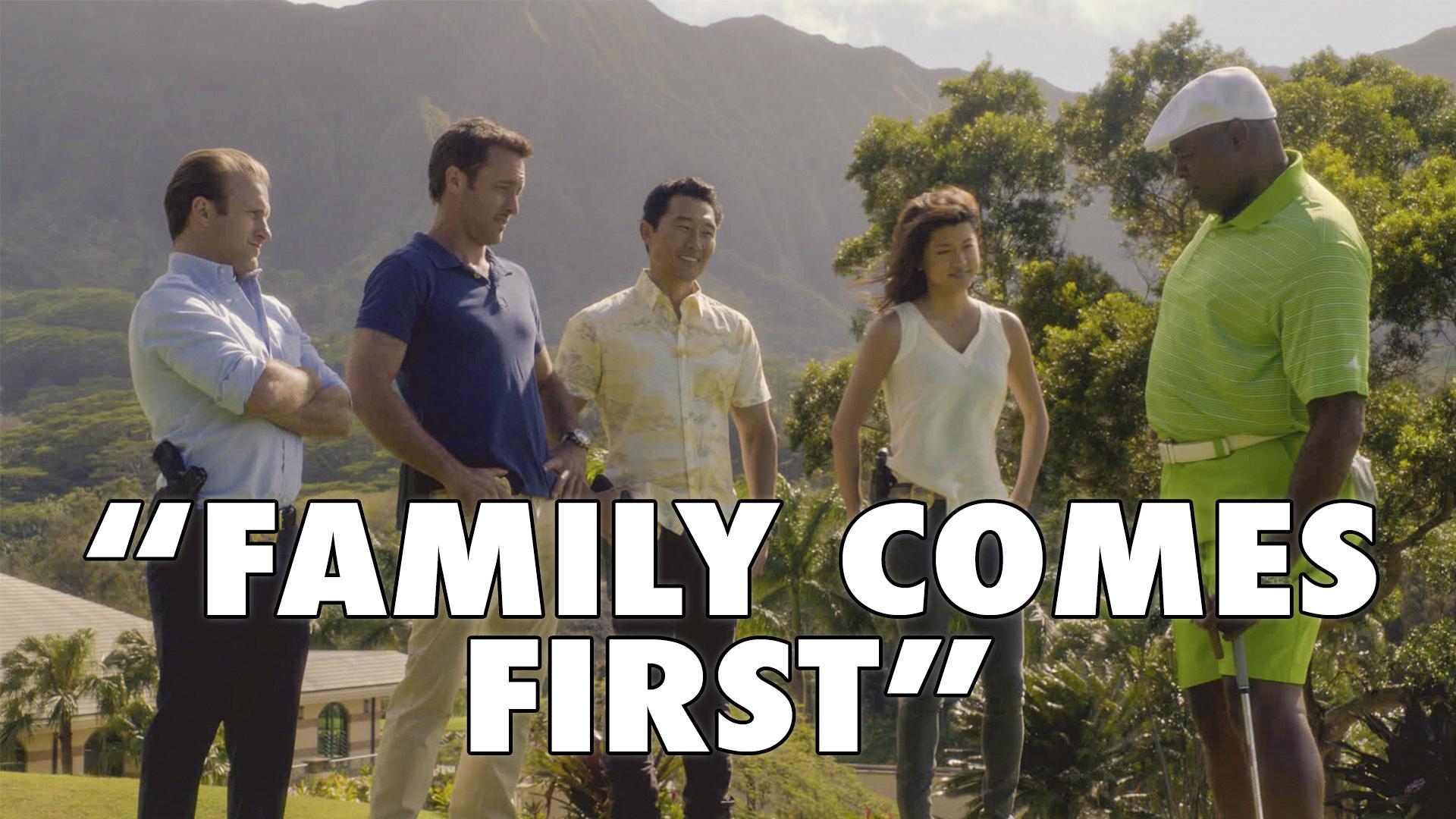 """Hawaiian title: """"O Ka Pilo 'Ohana Ka 'Oi"""""""
