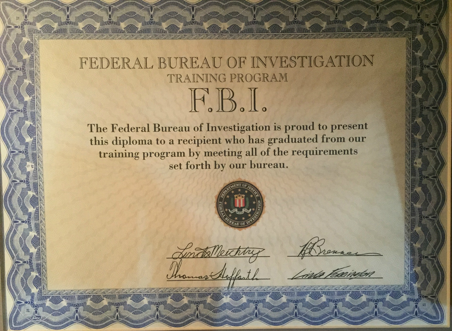 Welcome to the Federal Bureau of Investigation