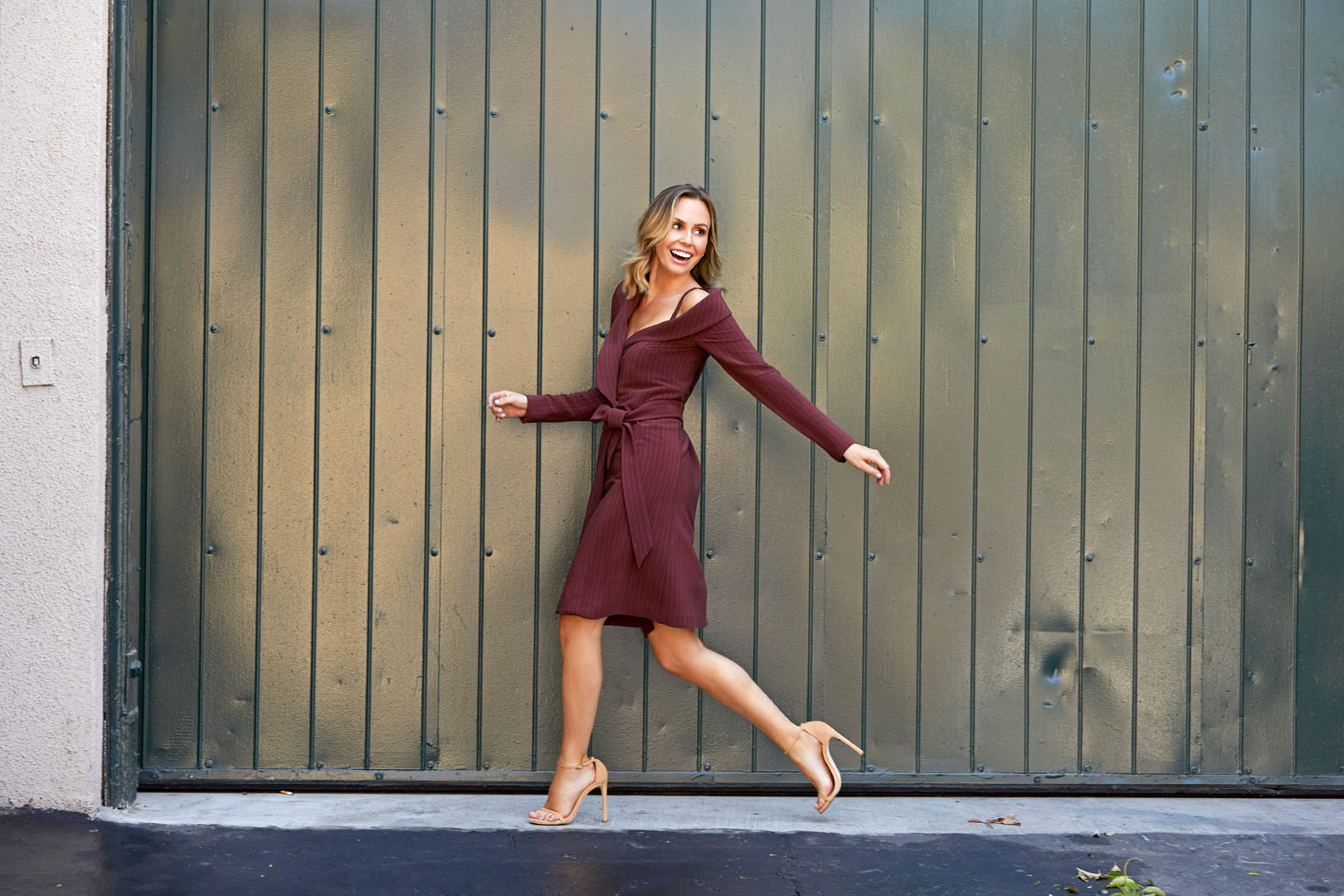 Poise and personality are no problem for Keltie Knight