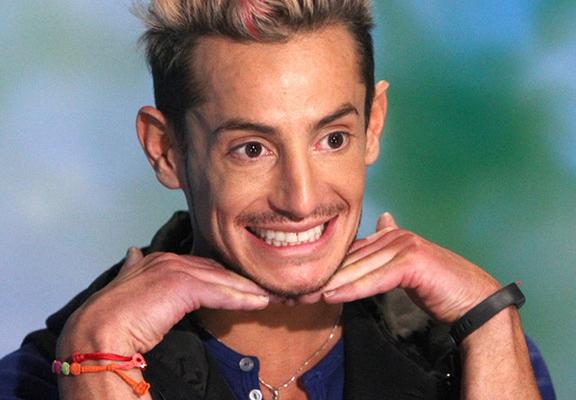 """Frankie made a """"grande"""" reveal to everyone."""