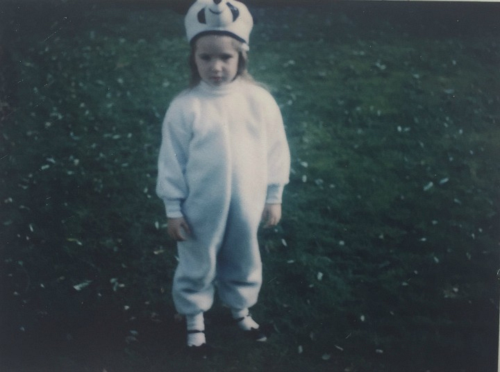 Amber Lancaster was the world's cutest panda.