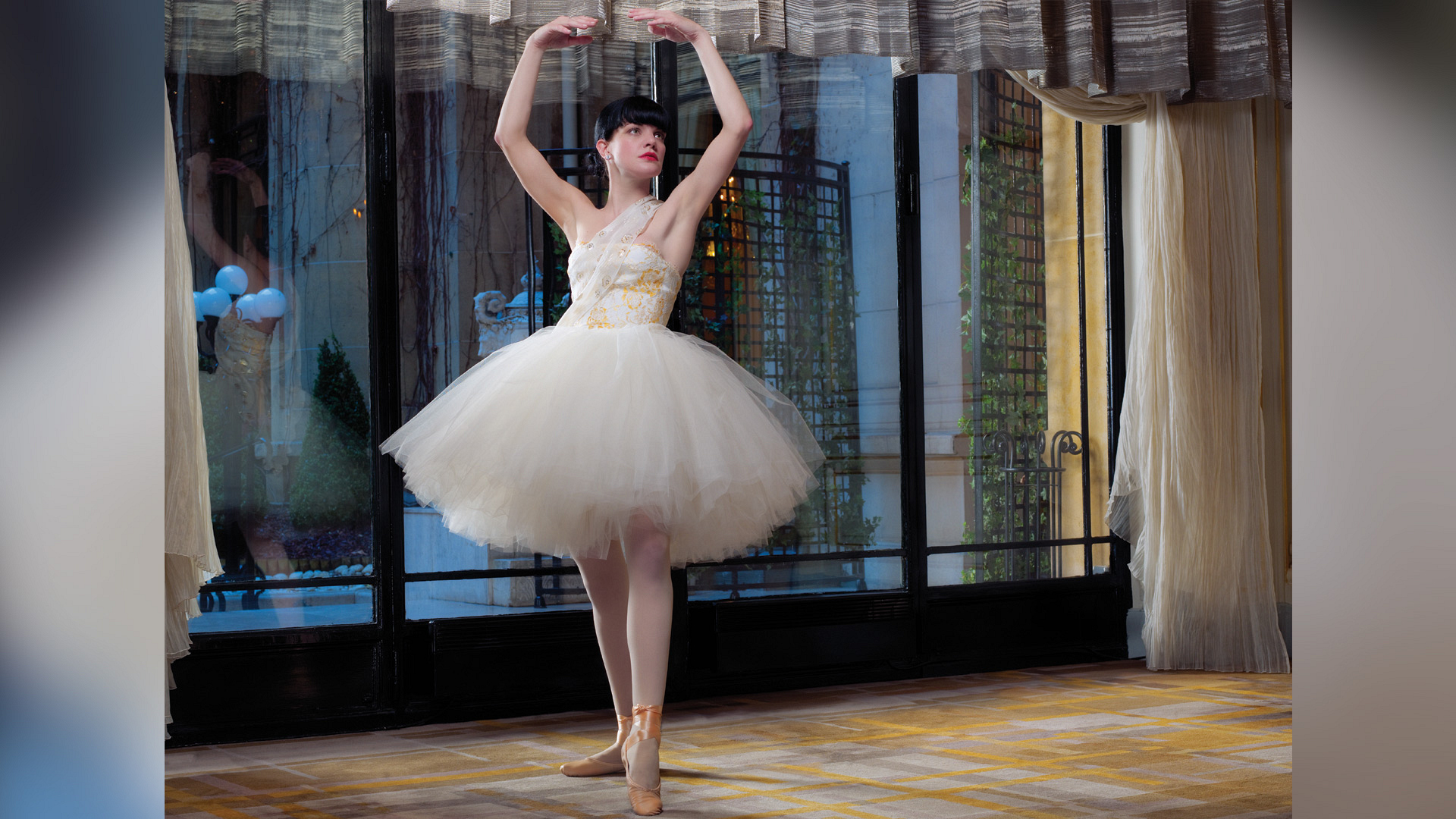 Pauley Perrette as a prima ballerina