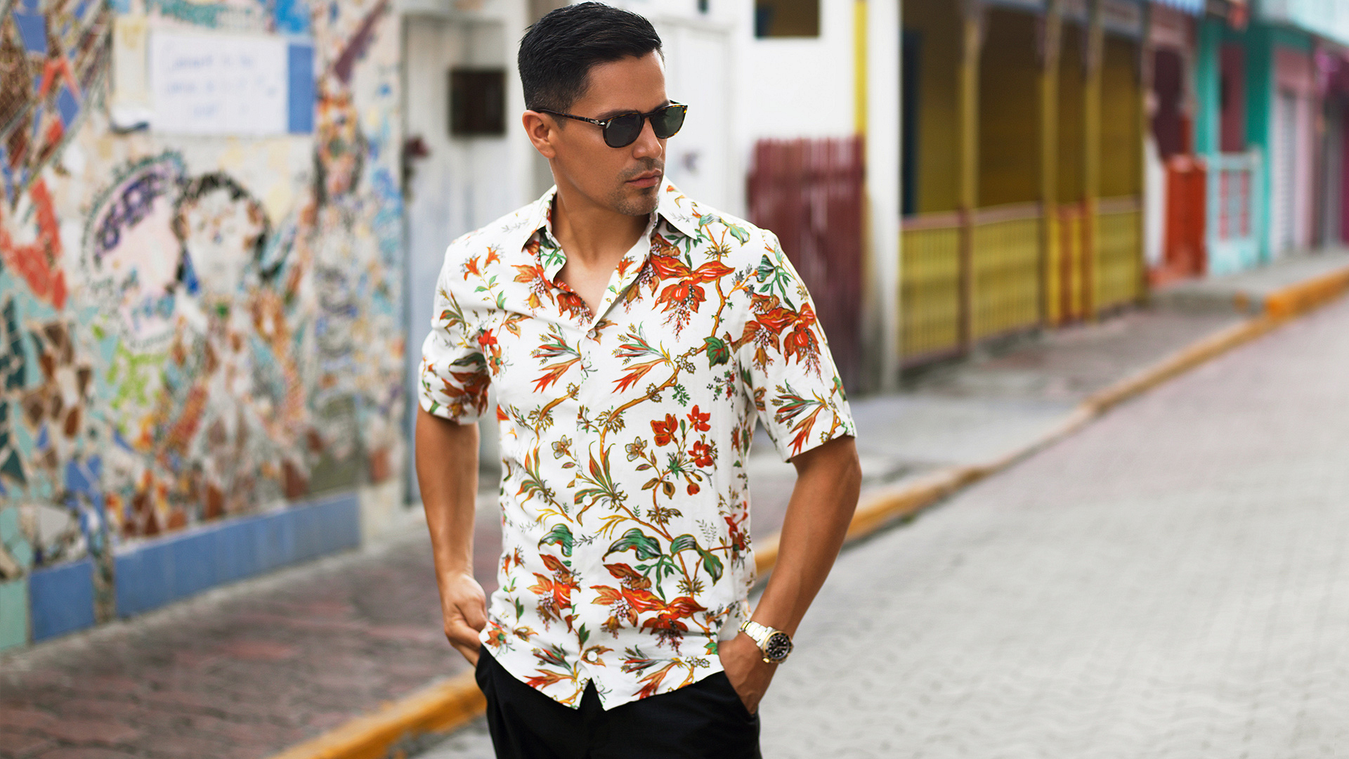 Magnum P.I. star Jay Hernandez turns up the heat in Mexico