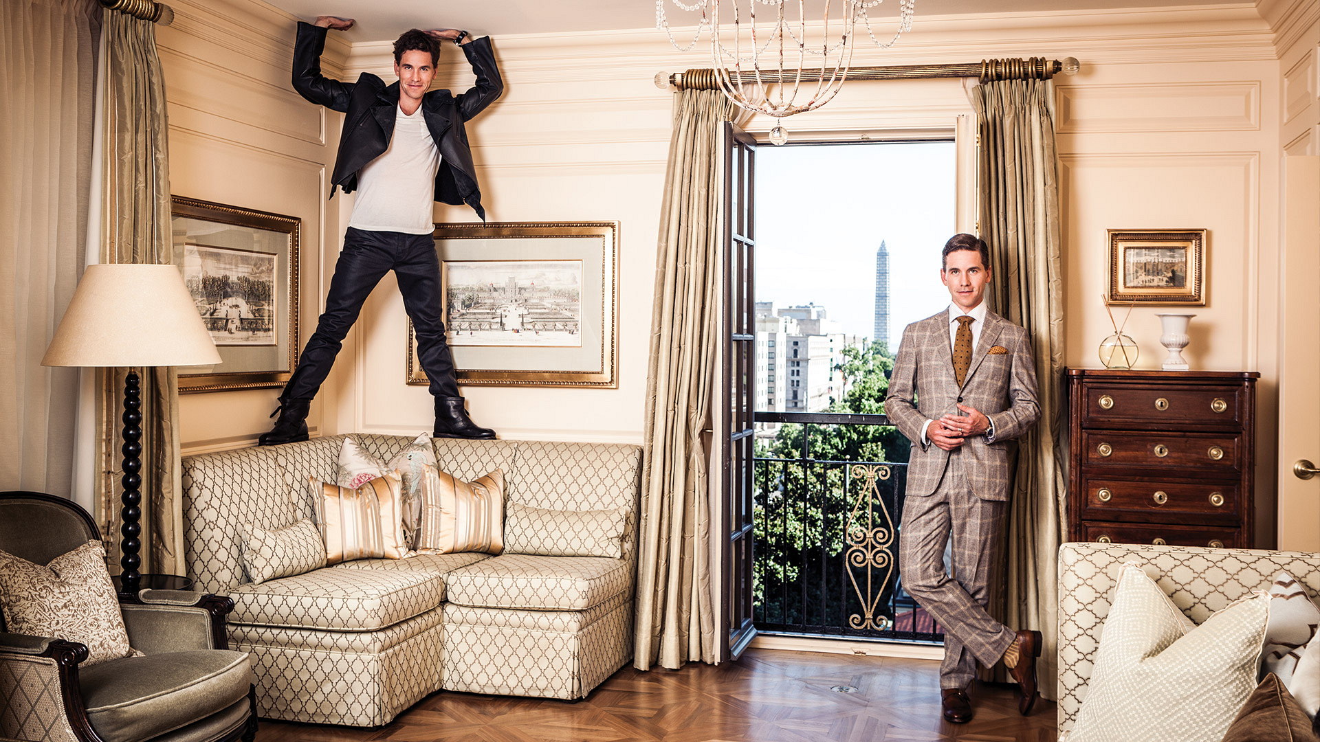 NCIS star Brian Dietzen raises the roof in these incredible photos
