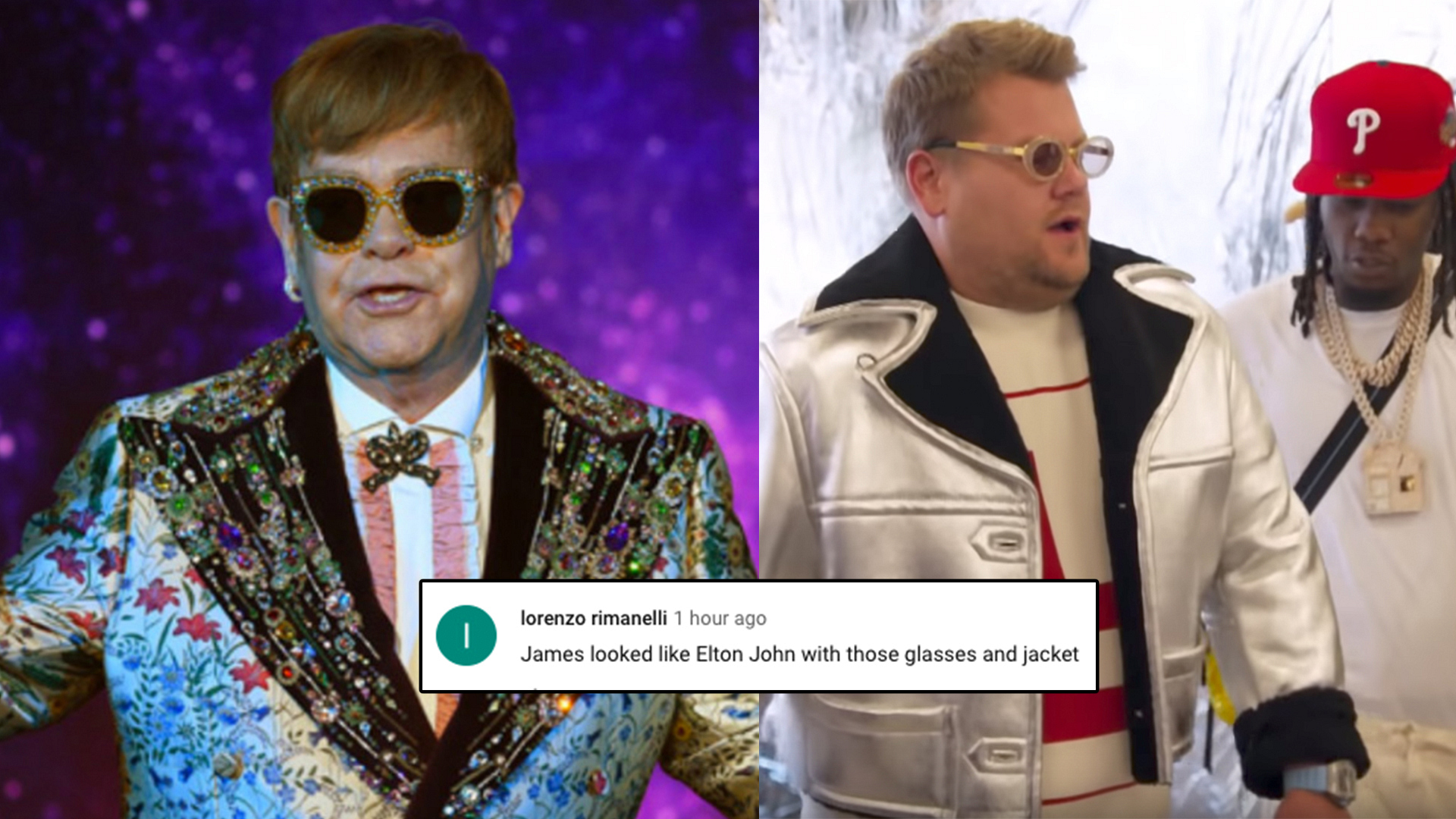 Are we sure Elton and James aren't related?