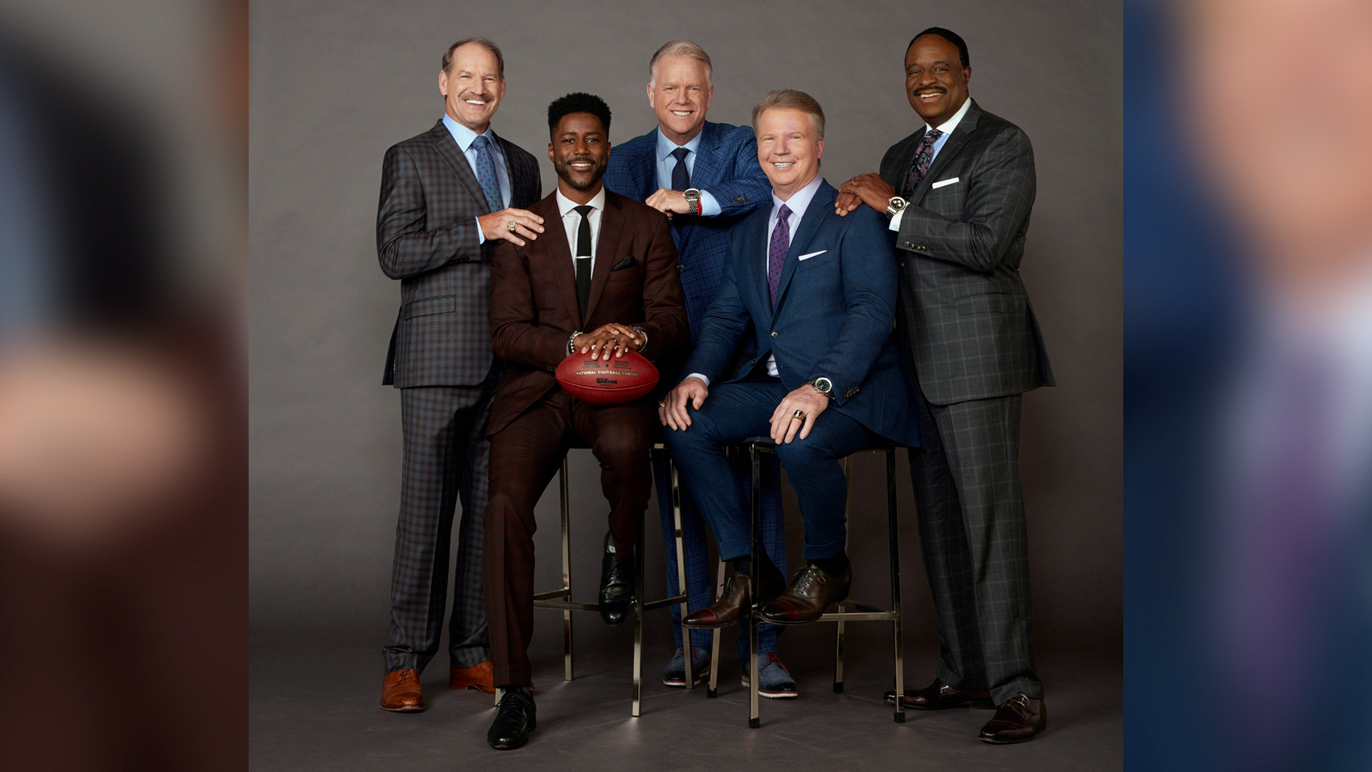 The NFL Today hosts make football fun, and these exclusive new photos prove it!