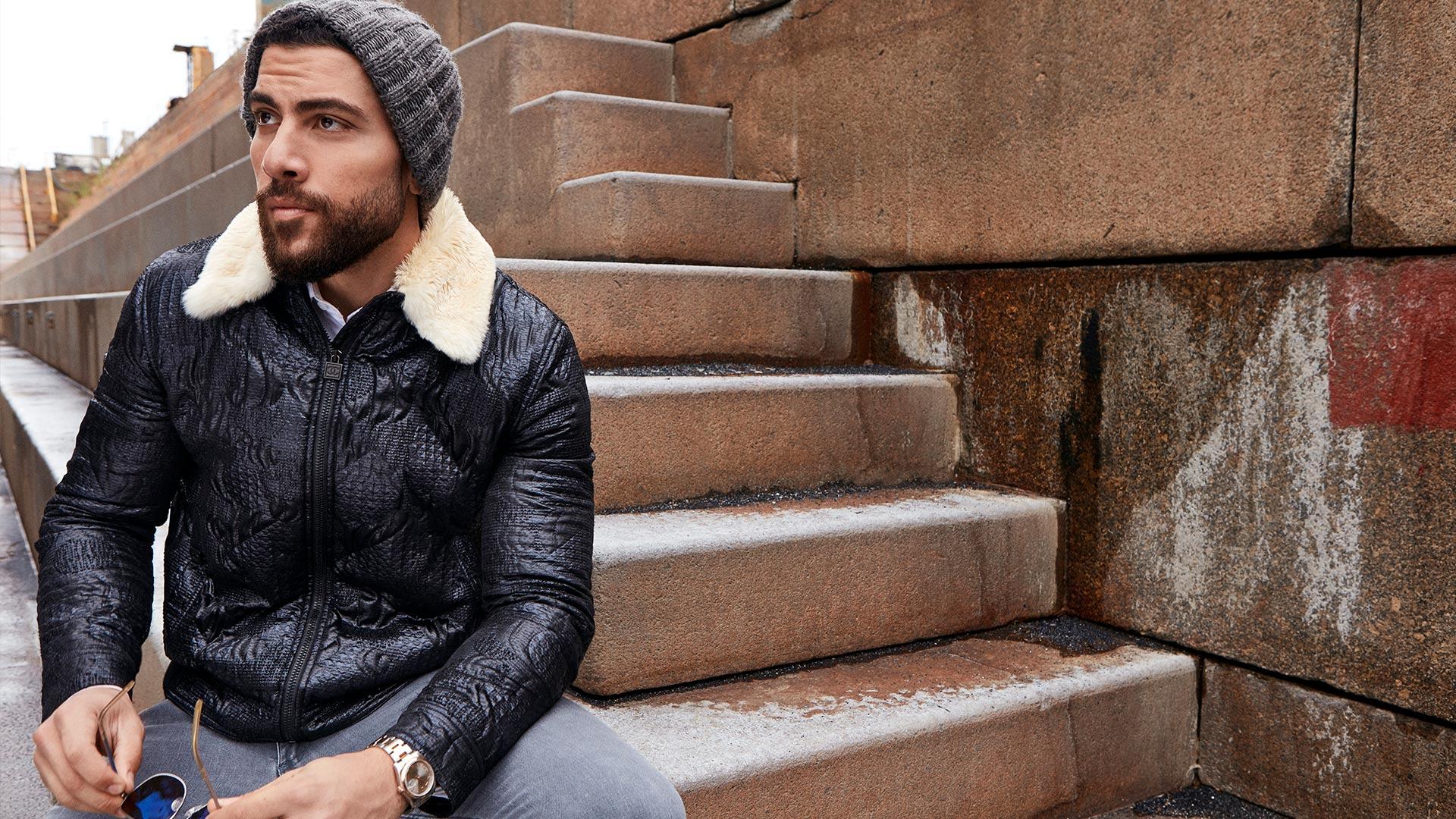 Zeeko Zaki makes chill look oh-so-chic