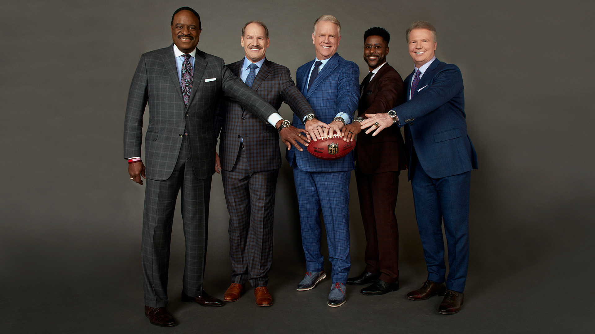 The fellas of The NFL Today are going to the Super Bowl!