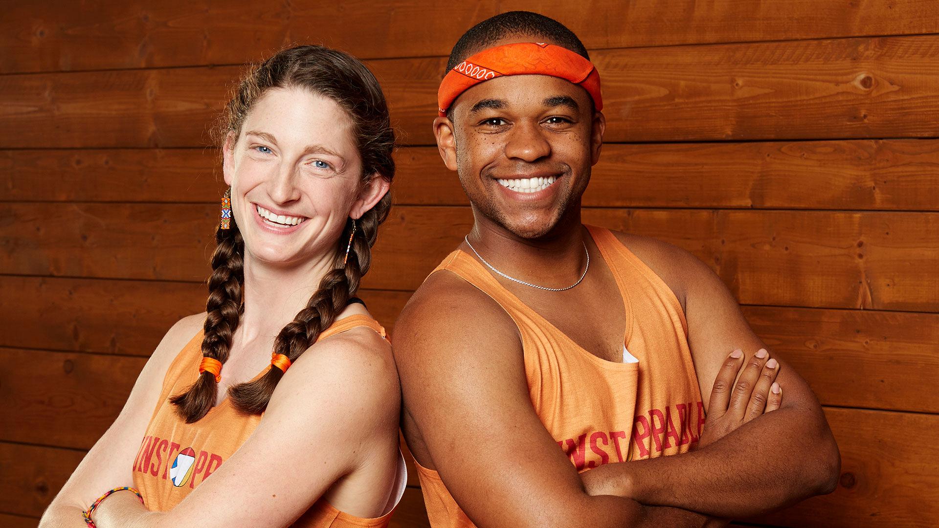 Becca Droz and Floyd Pierce (Friends)