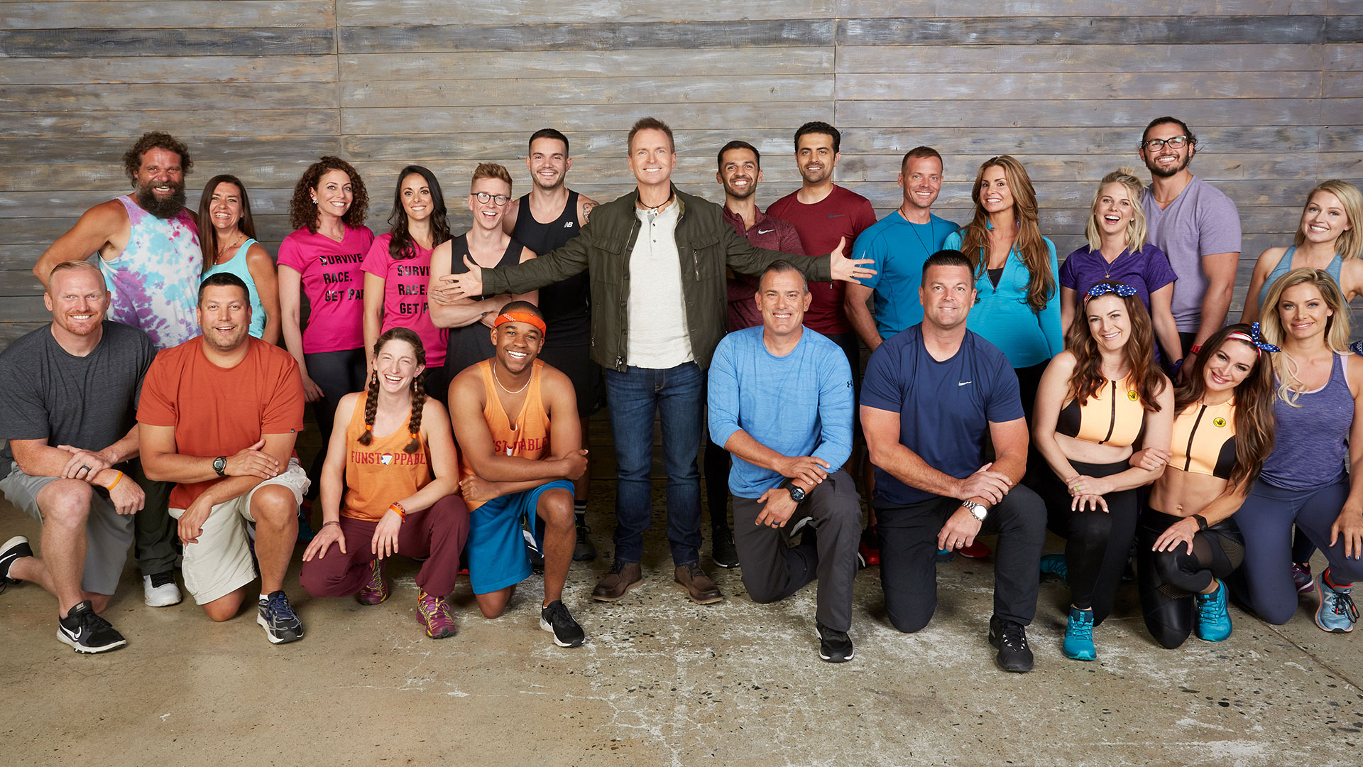 It's a reality showdown on an all-new season of The Amazing Race, premiering Wednesday, Apr. 17 at 9/8c.