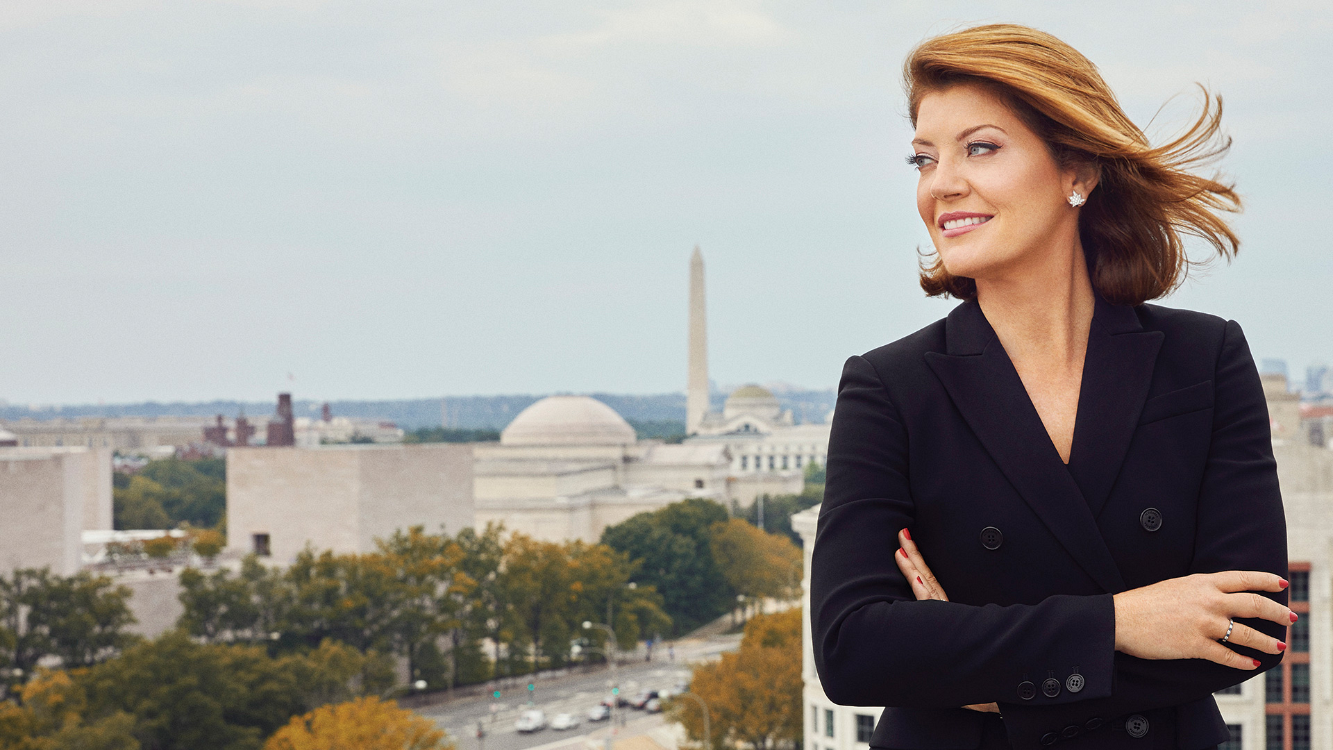 Norah O'Donnell shines in this monumental cover photo shoot