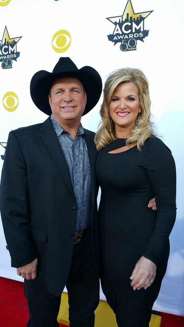 5 & 6. Garth Brooks and Trisha Yearwood