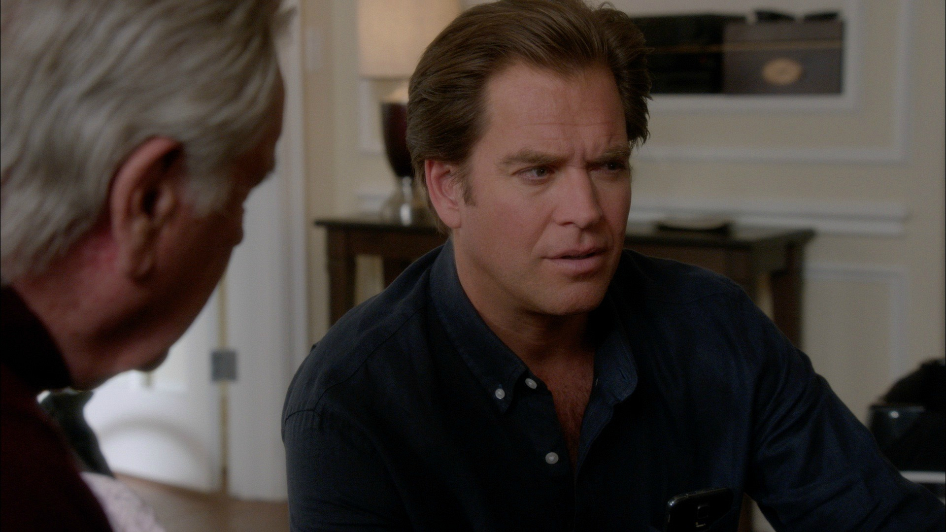 Robert Wagner insisted DiNozzo, Sr. should be there.