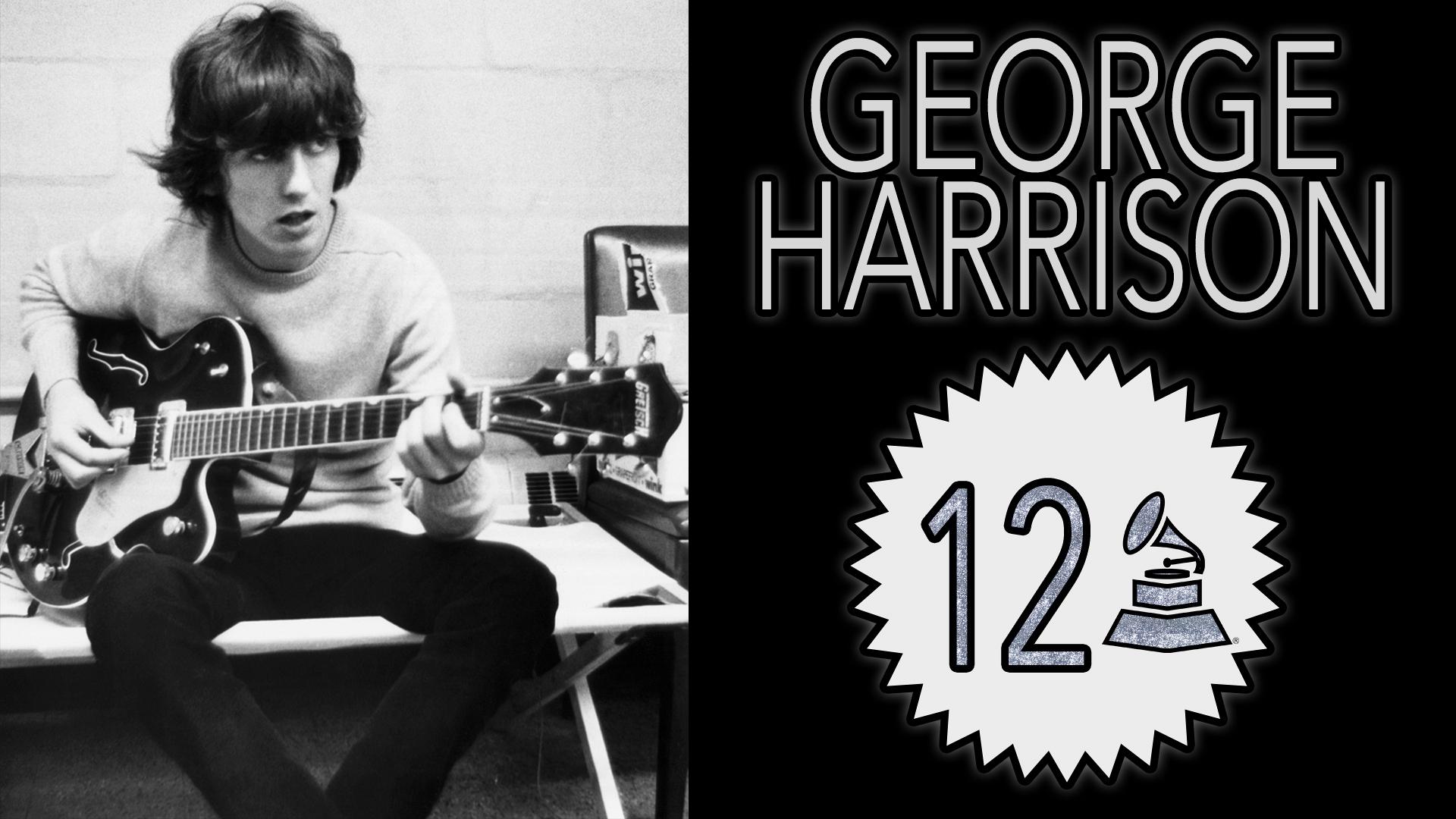 George Harrison with 12 GRAMMY Awards
