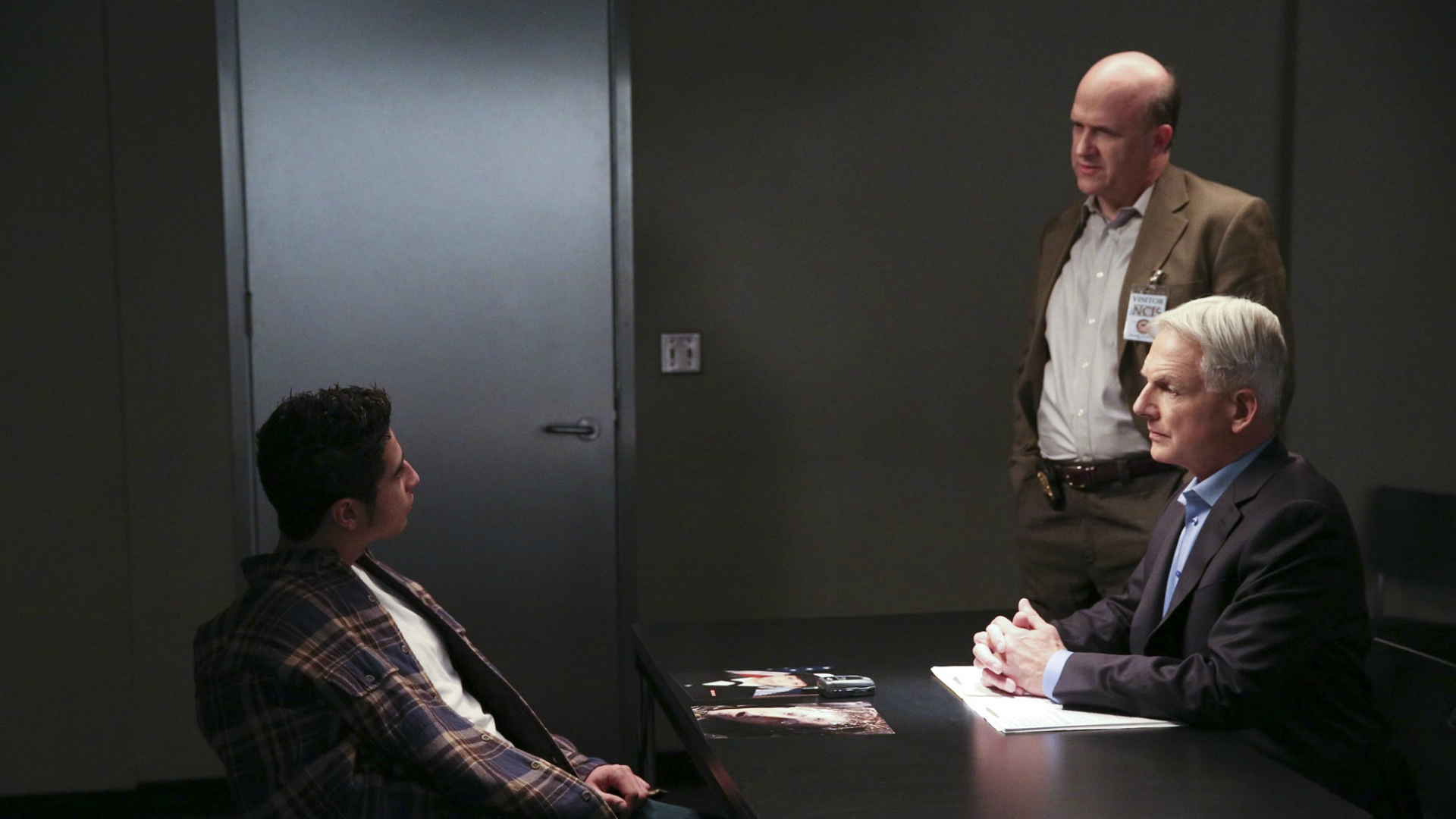 Gibbs' Rule #22: Never, ever bother Gibbs in interrogation.