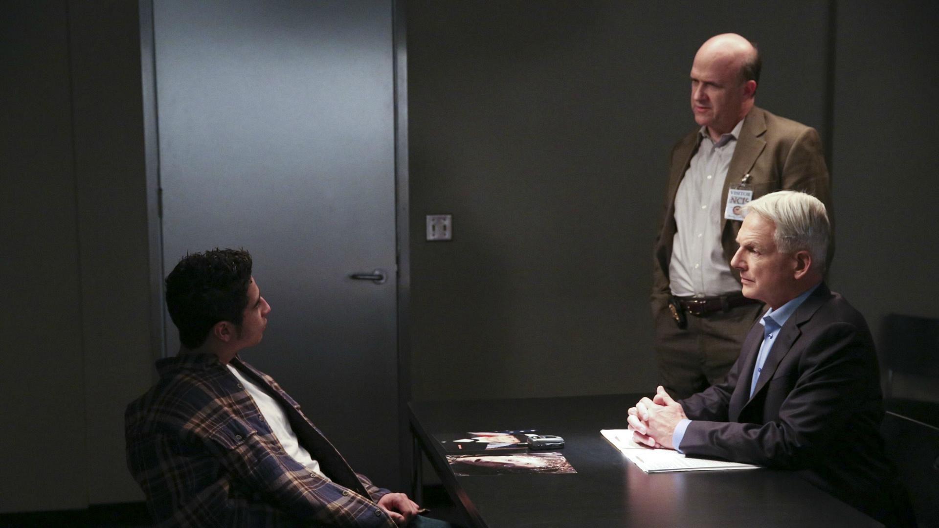 Gibbs' Rule #22: Never, ever bother Gibbs in interrogation.