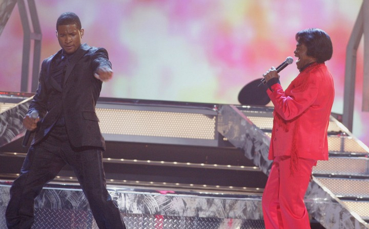 Usher and James Brown (2005)