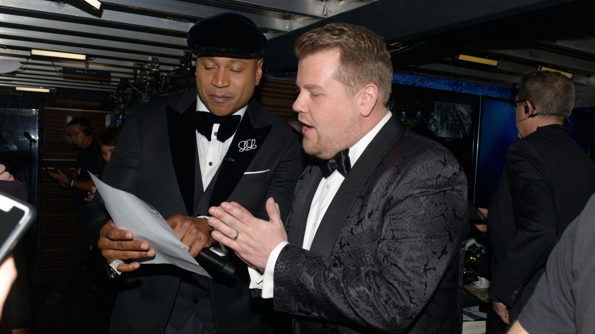 LL COOL J and James Corden—when hosts unite