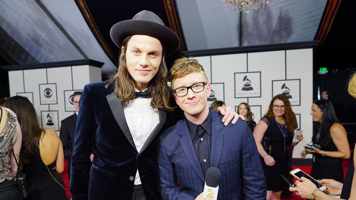 GRAMMYs 2016: James Bay and Tyler Oakley
