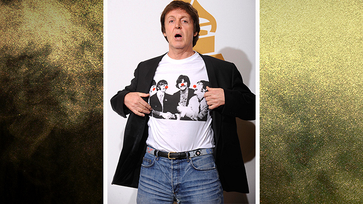 Sir Paul McCartney!