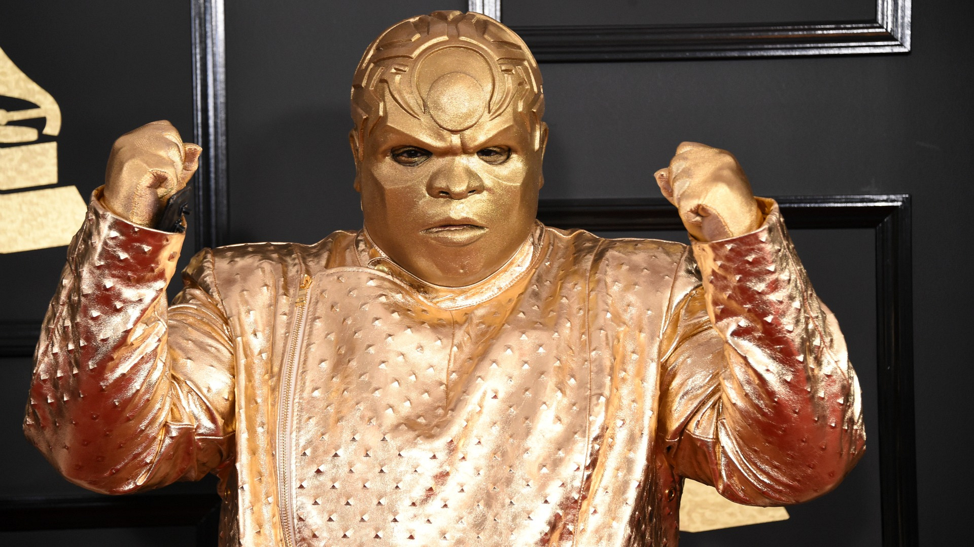 Talk about 24k magic! CeeLo Gold—er, Green—came in like a metallic wrecking ball.