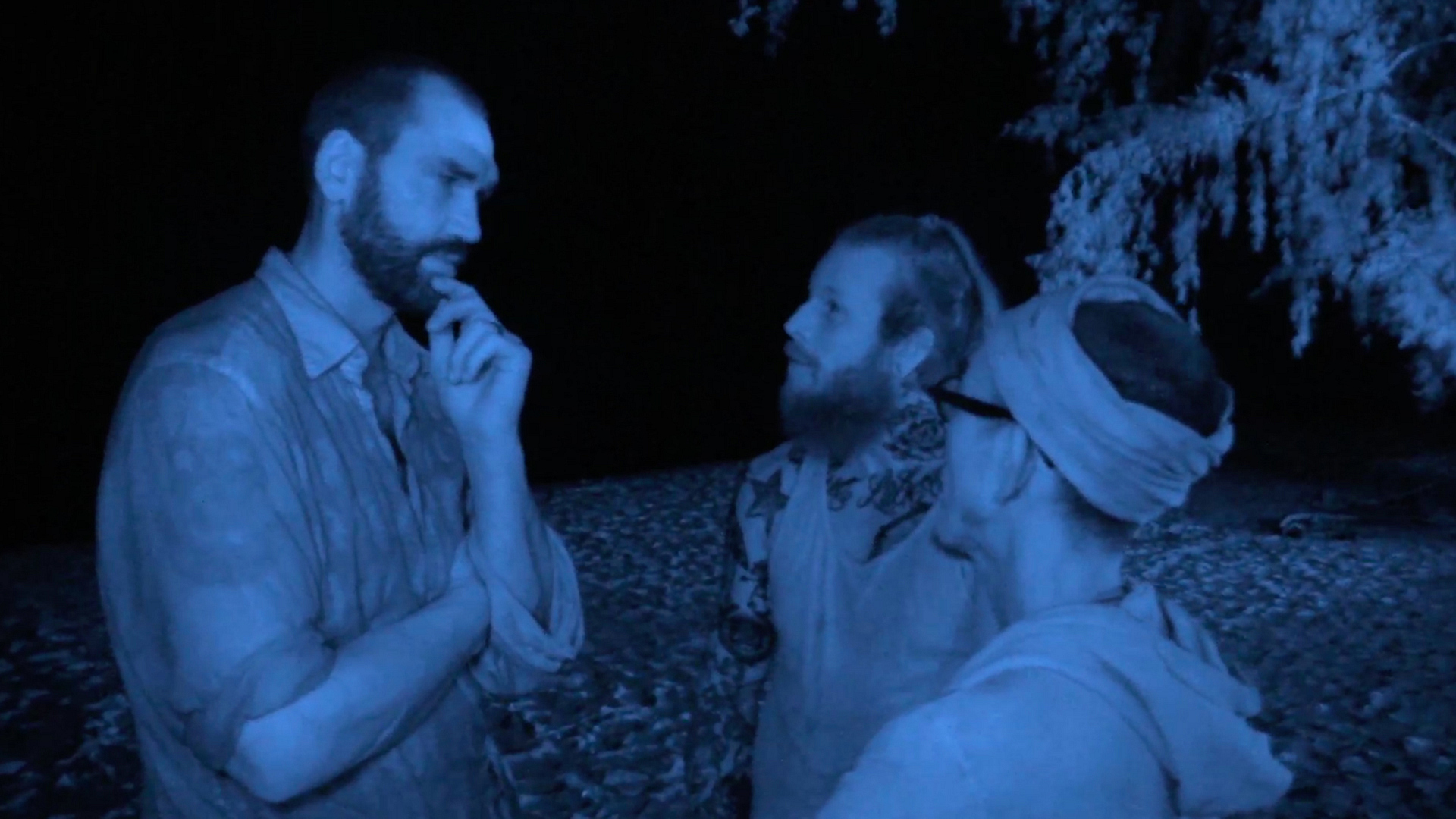 1. Jason, Scot, and Tai begin their wicked sabotage on the rest of the tribe.