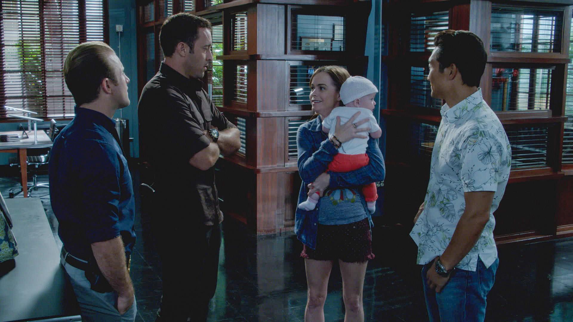 "Mary's Baby in ""Ua Nalohia"" Season 4 Episode 7"