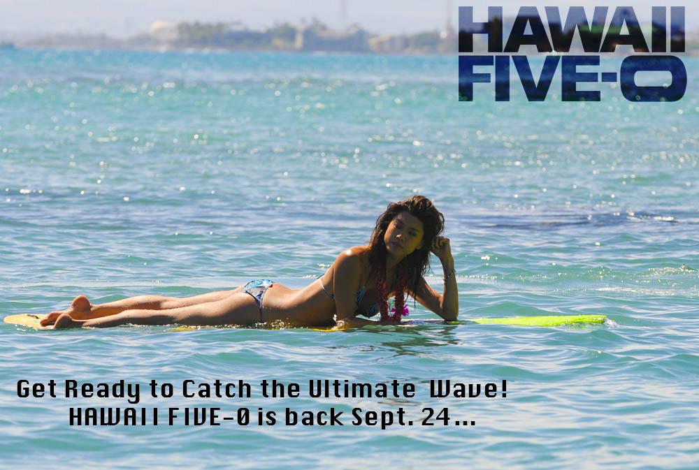 Hawaii Five-0 Postcard