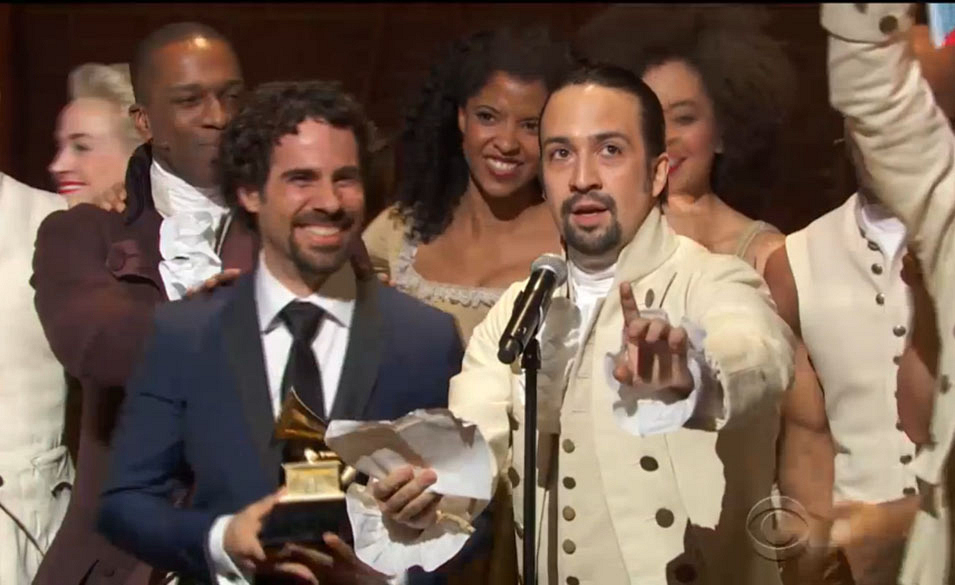 Hamilton: Best Musical Theater Album